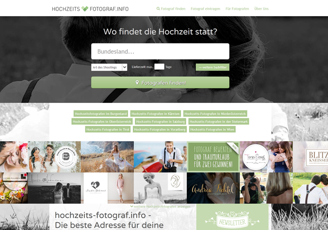 hochzeits-fotograf.info Design