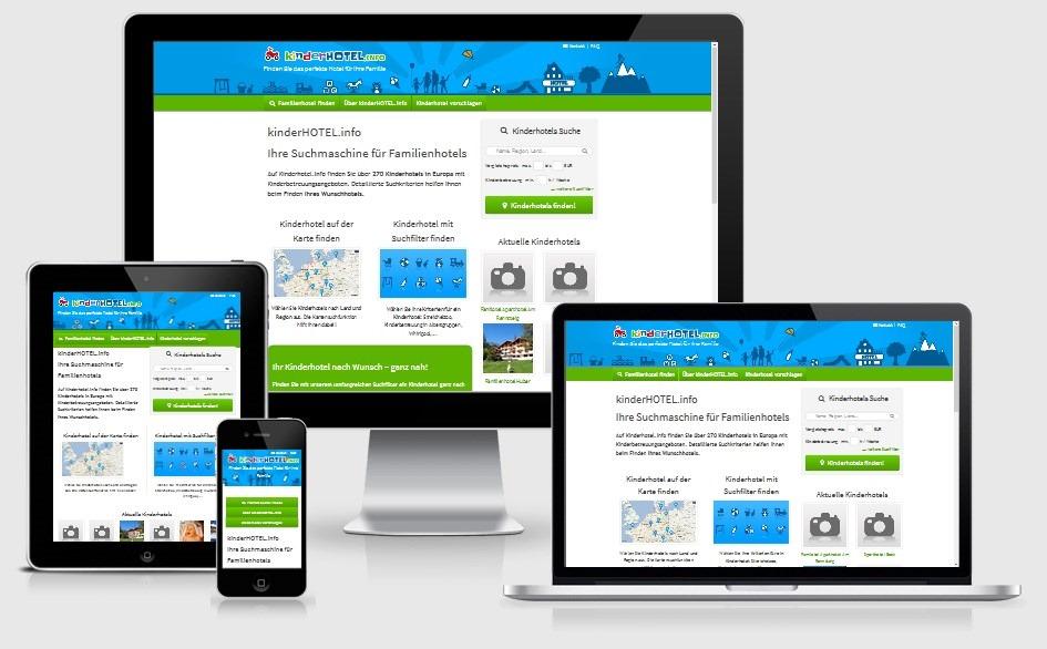 Bedienbarkeit für alle Endgeräte: vom Smartphone, Iphone über Tablets bis zum PC | discoverize - die individuelle Web Portal Software für branchen-spezifische Web Portale