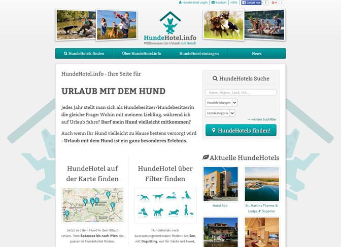 hundehotel.info design