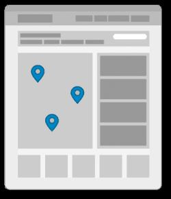 Suchseiten im Branchenportal