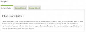 Branchenportal Software: Inhalte mit Tabs/ Reitern übersichtlich präsentieren
