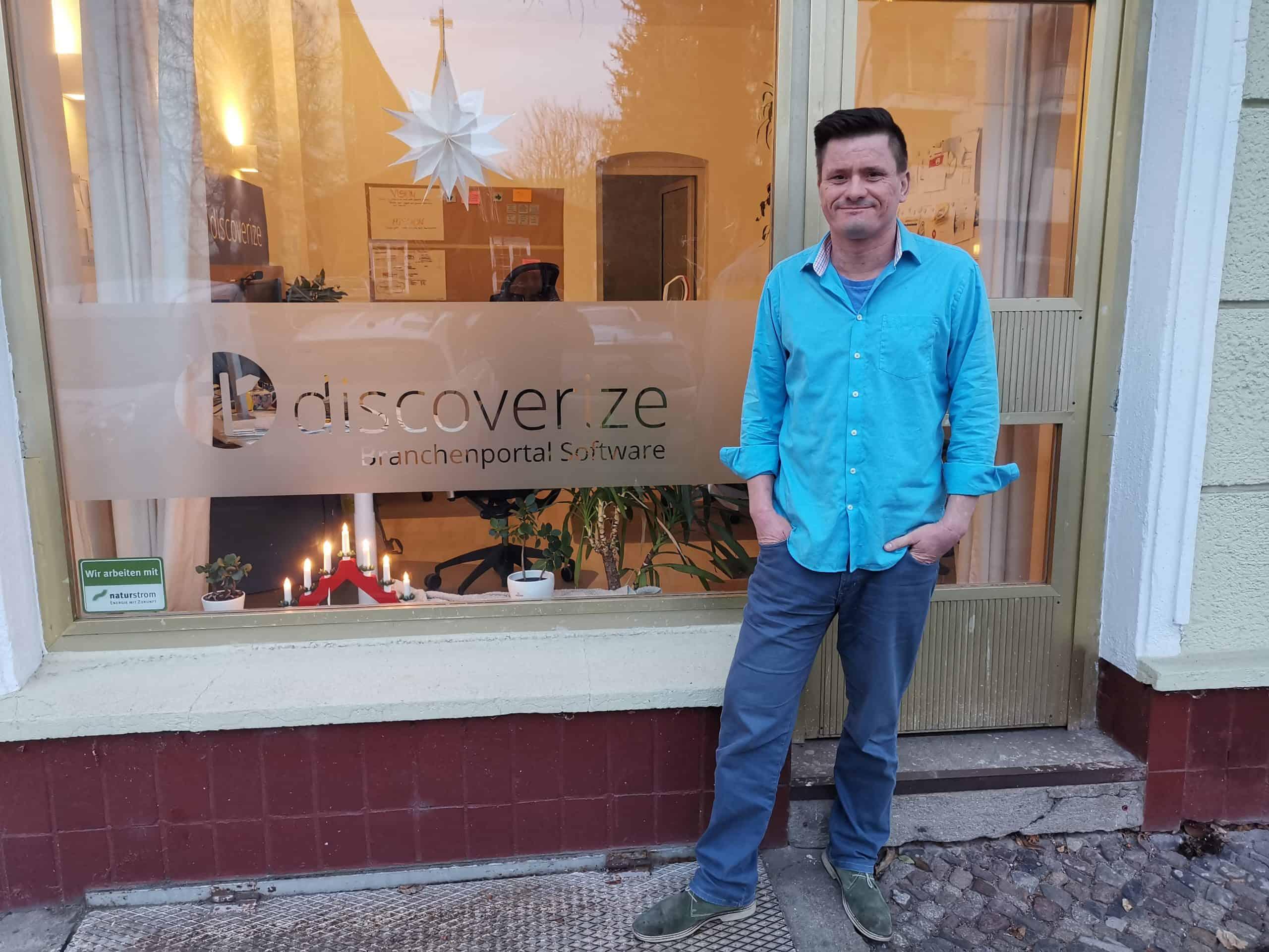 discoverize - Branchenportal Software - Büro - Andrej Telle